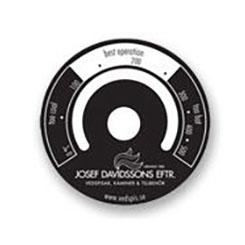 Rökgastermometer (rund magnet)
